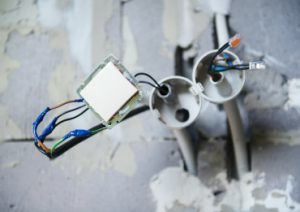 Office Electrical Cables Connection and Wiring