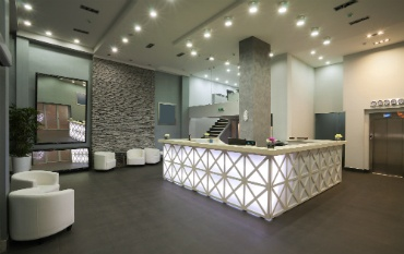 Office Reception and Waiting Area