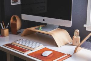 Office Desk De-cluttering